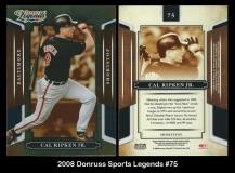 2008 Donruss Sports Legends #75