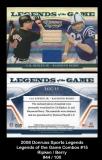 2008 Donruss Sports Legends Legends of the Game Combos #15