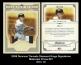 2008 Donruss Threads Diamond Kings Signatures Materials Prime #27