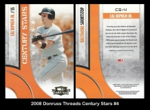 2008 Donruss Threads Century Stars #4