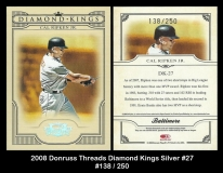 2008 Donruss Threads Diamond Kings SIlver #27
