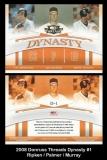 2008 Donruss Threads Dynasty #1