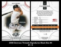 2008 Donruss Threads Signatures Black Box #4
