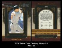 2008 Prime Cuts Century Silver #12