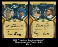 2008 Prime Cuts Signature Quads #7