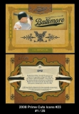 2008 Prime Cuts Icons #23