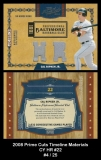 2008 Prime Cuts Timeline Materials CY HR #22