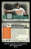 2008 SP Legendary Cuts Legendary Memorabilia 8 #CR