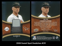 2008 Sweet Spot Swatches #CR