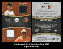 2008 Sweet Spot Swatches Dual #RM