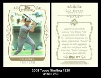 2008 Topps Sterling #228