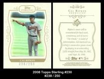 2008 Topps Sterling #230