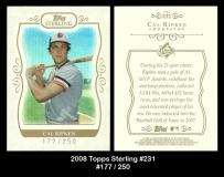 2008 Topps Sterling #231
