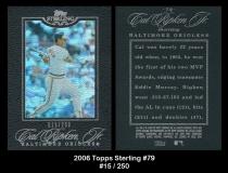 2006 Topps Sterling #79