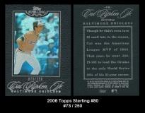 2006 Topps Sterling #80