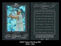 2006 Topps Sterling #83