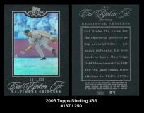 2006 Topps Sterling #85