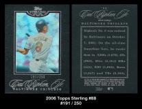 2006 Topps Sterling #88
