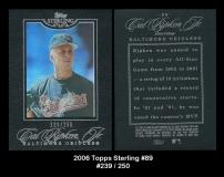 2006 Topps Sterling #89