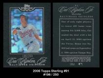 2006 Topps Sterling #91