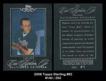 2006 Topps Sterling #92