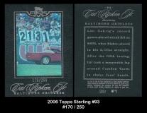 2006 Topps Sterling #93
