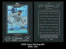 2006 Topps Sterling #94