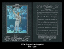 2006 Topps Sterling #95
