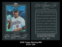 2006 Topps Sterling #96