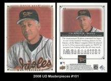 2008 UD Masterpieces #101