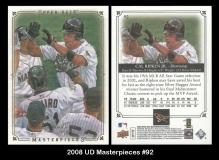 2008 UD Masterpieces #92