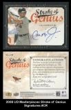2008 UD Masterpieces Stroke of Genius Signatures #CR