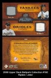 2008 Upper Deck Ballpark Collection #192