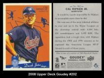 2008 Upper Deck Goudey #202