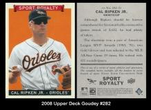 2008 Upper Deck Goudey #282