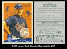 2008 Upper Deck Goudey Memorabilia #CR