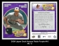 2008 Upper Deck Heroes Patch Purple #16
