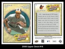 2008 Upper Deck Heroes #16