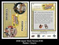 2008 Upper Deck Heroes #180