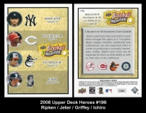 2008 Upper Deck Heroes #196
