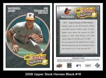 2008 Upper Deck Heroes Black #16