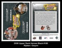 2008 Upper Deck Heroes Black #180