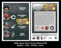 2008 Upper Deck Heroes Black #196