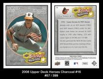 2008 Upper Deck Heroes Charcoal #16
