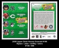 2008 Upper Deck Heroes Emerald #196