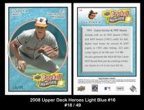 2008 Upper Deck Heroes Light Blue #16