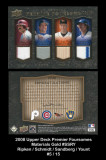 2008-Upper-Deck-Premier-Foursome-Memorabillia-Gold-SSRY