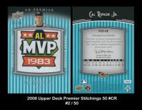 2008-Upper-Deck-Premier-Stitchings-50-CR