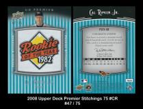 2008-Upper-Deck-Premier-Stitchings-75-CR
