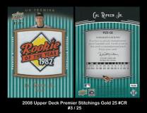 2008-Upper-Deck-Premier-Stitchings-Gold-25-CR